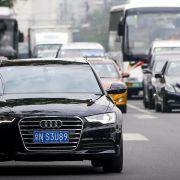 Chinas Konjunkturflaute trifft deutsche Autobauer (Foto)