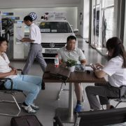 Schwaches China-Geschäft lässt Volkswagens Exporte sinken (Foto)