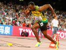 Superstar Usain Bolt krönte sich in Peking zum Doppel-Weltmeister 2015. (Foto)