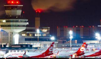 Am Flughafen Tegel werden jährlich 22 bis 23 Millionen Passagiere abgefertigt. (Foto)