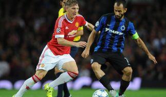 Ordentliche Leistung von Bastian Schweinsteiger in der Champions League Qualifikation. (Foto)