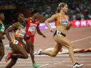 Bei der Leichtathletik-WM 2015 in Peking holte Dafne Schippers (Niederlande) nach Silber über die 100 Meter sensationell Gold über die doppelte Distanz. (Foto)