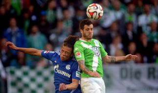 Zu Beginn des 3. Spieltages der Fußball-Bundesliga 2015/16 traf der VfL Wolfsburg auf FC Schalke 04 - und gewann. (Foto)