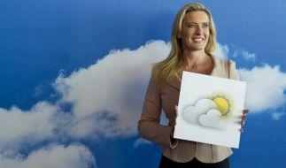 ARD-Wetterfee Claudia Kleinert hatte großes Pech in der Liebe. (Foto)