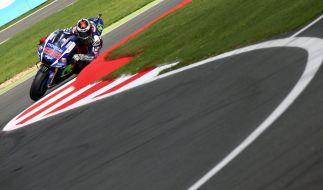 Jorge Lorenzo kämpft in der MotoGP 2015 um den Weltmeistertitel. (Foto)