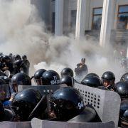 Explosion und Ausschreitungen in Kiew (Foto)