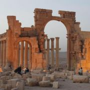 IS sprengt antiken Tempel in Palmyra (Foto)