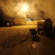 Ausschreitugen bei Armee-Einsatz in Palästina (Foto)
