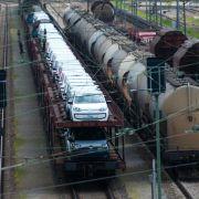 Lokführerstreiks belasten Güterverkehr auf der Schiene (Foto)
