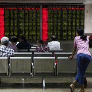 Kreise: Chinas Notenbank geht gegen Yuan-Spekulationen vor (Foto)