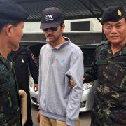 Mutmaßlicher Bombenleger von Bangkok gefasst (Foto)