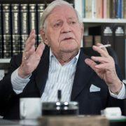 Helmut Schmidt auf Intensivstation - «Keine Lebensgefahr» (Foto)
