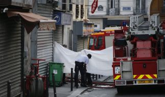 Bei einem verheerenden Brand in Paris sind acht Menschen ums Leben gekommen. (Foto)