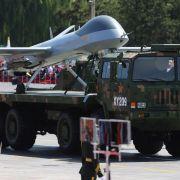 China hält Rekord-Militärparade zum Kriegsgedenken ab (Foto)
