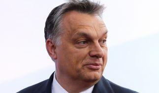 Ungarns Präsident Viktor Orban wird heute in Brüssel um Hilfe bitten. (Foto)