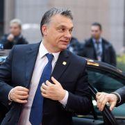 Flüchtlinge in Ungarn:Orban bittet bei EU um Finanzhilfe (Foto)