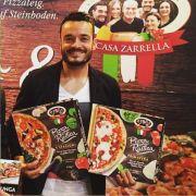 Giovanni Zarrella backt jetzt Fertigpizza (Foto)