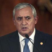 Guatemalas Parlament billigt Rücktritt von Präsident Pérez (Foto)