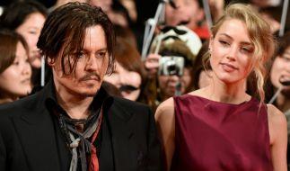 Johnny Depp und Amber Heard im Januar 2015 bei einer Filmpremiere in Tokio. (Foto)