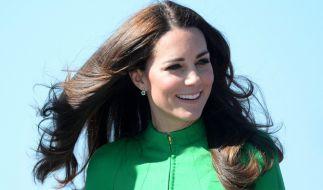 Erwartet Herzogin Kate etwa schon Kind Nummer 3? (Foto)