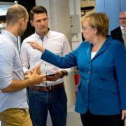 Merkel will mehr Gründergeist in Deutschland (Foto)