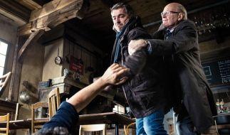 """""""Tatort"""" am Sonntag: Beim Verhör eines Verdächtigen rastet Reto Flückiger (Stefan Gubser) aus. (Foto)"""