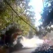 Rallye-Auto rast in Zuschauermenge - 6 Tote (Foto)