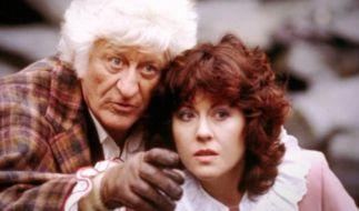Jon Pertwee (links) spielt Doctor Nummer 3. Er starb 1996. (Foto)