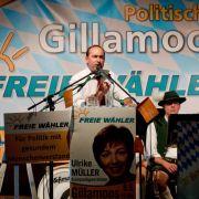 Politischer Gillamoos mit Söder, Stegner und Roth (Foto)