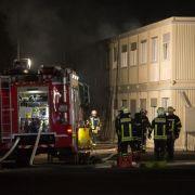 Fünf Verletzte bei Brand in Asylbewerber-Heim in Rottenburg (Foto)