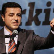 Kurdenpolitiker Demirtas bricht Deutschlandreise ab (Foto)