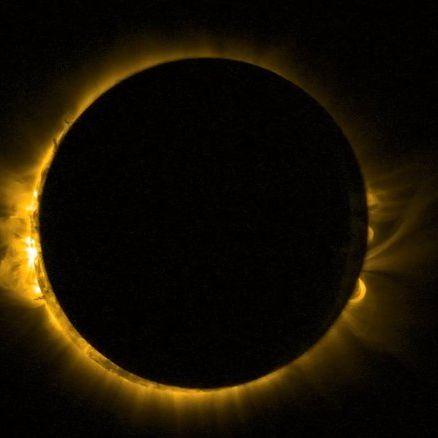 Unglaubliches Astro-Spektakel verzaubert Morgenhimmel (Foto)