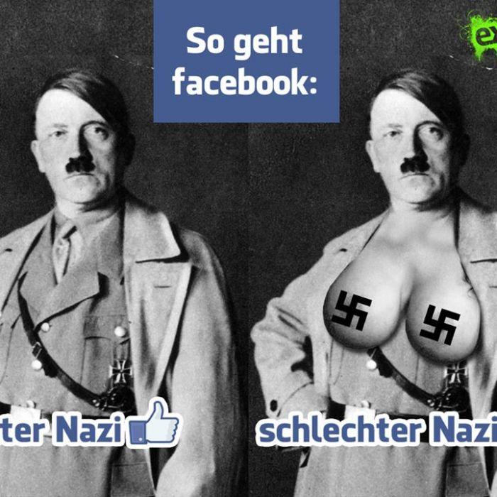 Lachen gegen braunen Dreck: Nazis ärgern mit Humor (Foto)