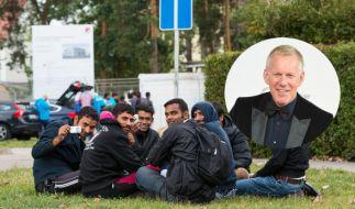 In der ZDF-Live-Sendung geht es um die Flüchtlingssituation: In Live-Schaltungen, Gesprächen und Reportagen präsentiert Johannes B. Kerner die Situation der Flüchtlinge und spricht mit Helfern darüber, wie jeder einzelne helfen kann. (Foto)
