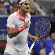 Federer und Wawrinka im US-Open-Halbfinale (Foto)