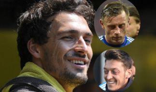 Mats Hummels, Ivica Olic und Mesut Özil: Diese Fußballer haben einen Doppelgänger. (Foto)