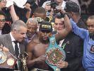 Er tritt ab! Floyd Mayweather kämpft in Las Vegas den letzten Fight seiner Profi-Karriere. (Foto)