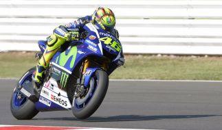 In Misano waren die Augen der MotoGP-Fans auf Valentino Rossi gerichtet. (Foto)
