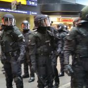 Angriff auf Polizisten, Chaos am Hamburger Bahnhof (Foto)