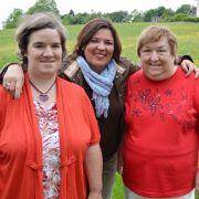 Beate gefühlsduselig: Schoko-Brunnen wird zur Stolperfalle (Foto)