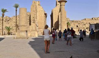 Ägypten ist bei Touristen beliebt. (Foto)