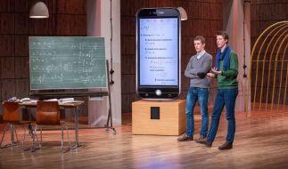 Raphael Nitsche (links) und Maxim Nitsche brauchen Geld für ihre App Math24. (Foto)