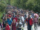 Tausende Menschen strömen nach Europa. (Foto)