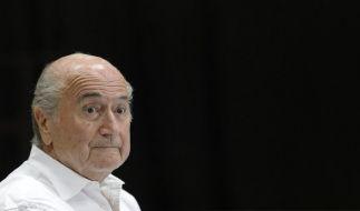 Sepp Blatter hat die Fifa in eine schwere Krise geführt. (Foto)