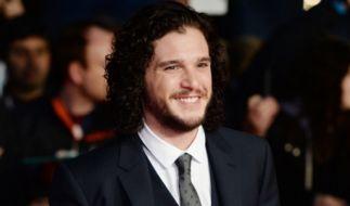 """Kit Harington ist in der Erfolgsserie """"Game of Thrones"""" der Stark-Bastard Jon Snow. (Foto)"""
