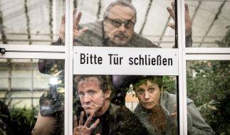 Löhring (Wolfgang Stumph, oben), Winter (Maximilian Brückner, l.) und Karin Schlick (Jule Ronstedt, r.) kämpfen mit ihren eigenen Mitteln gegen ihre Erkrankungen. (Foto)