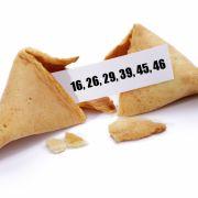 Glückskeks sagt richtige Lottozahlen voraus (Foto)