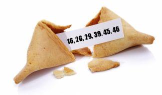 Unglaublich, aber wahr: Die richtigen Gewinnzahlen steckten im Keks. (Foto)