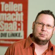 Anschlag auf Büro der Linkspartei in Freital (Foto)