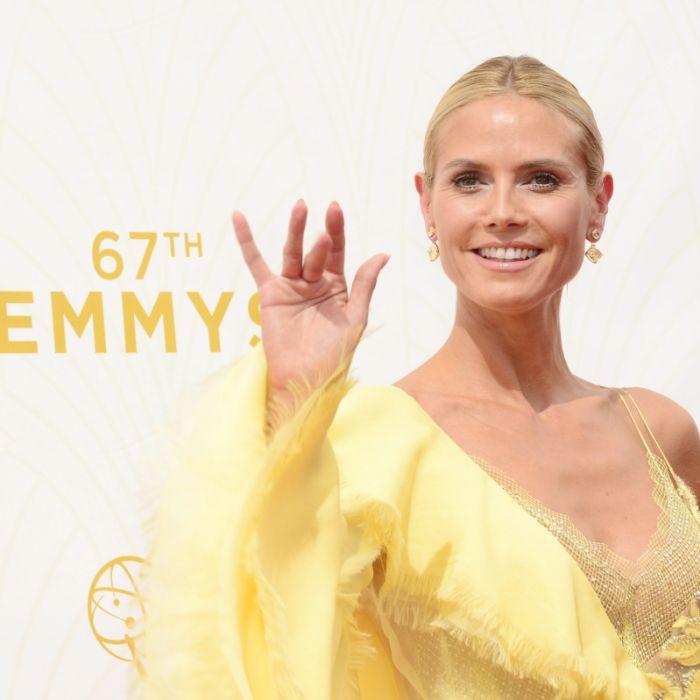 """Heidi Klum als """"Kanarienvogel"""" und ohne Vito Schnabel (Foto)"""